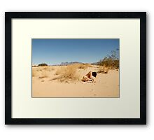 Seeker of the Mirage Framed Print