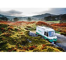 Library Van in the Lake District Photographic Print