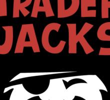TRADER JACKS Sticker