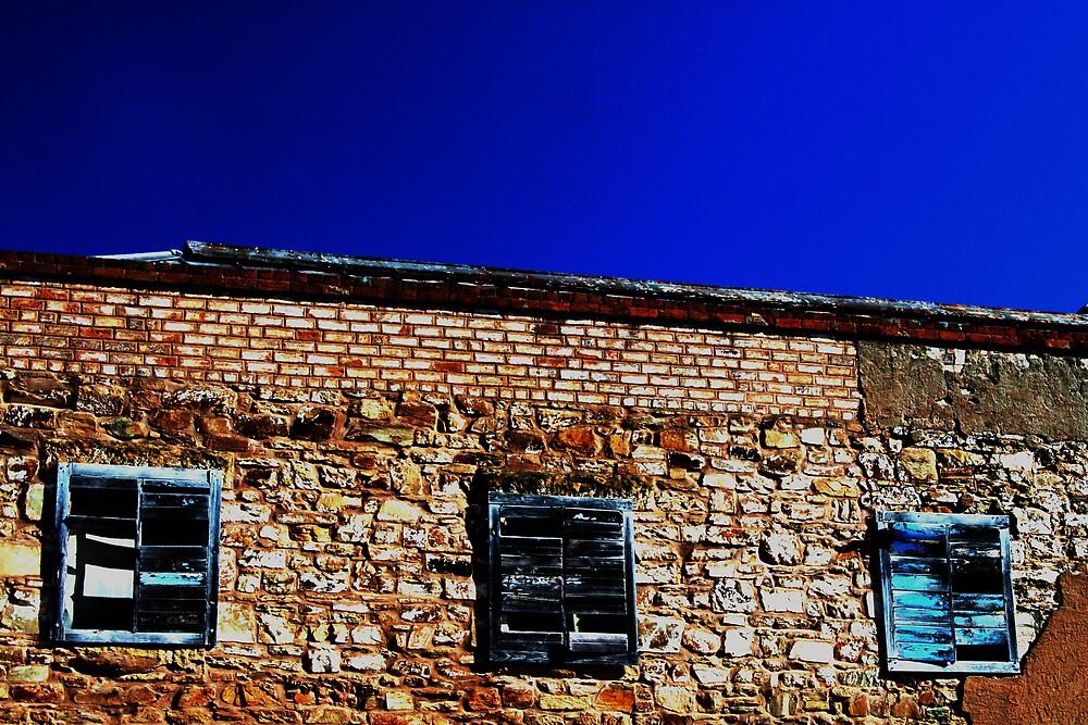 Shutters Of Blue by Larry149