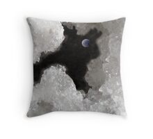 'Twas a Dark and Stormy Night Throw Pillow