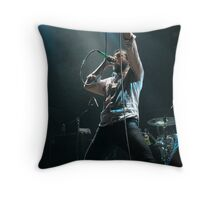 Stand up and raise hell Throw Pillow