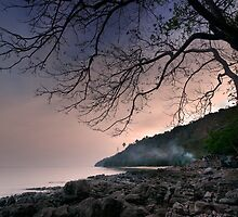 Peaceful Phi Phi Eve. by Robert Mullner