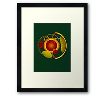 Earth Garden Framed Print