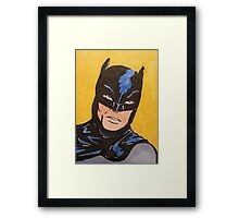 Caped Crusader 66 Framed Print