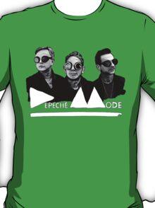 Depeche Mode : Fletch, Martin, Dave with welding glass (3) T-Shirt
