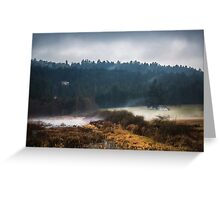 Mists of Vancouver Island Greeting Card