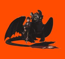 toothless with hiccup Kids Clothes