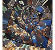 Spinning City Walls Photographic Print