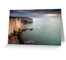 La Courtine d'Etretat Greeting Card