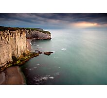 La Courtine d'Etretat Photographic Print