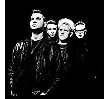 Depeche Mode : 90's Dave, Alan, Martin, Andy Digitalpaint Cutout Photographic Print