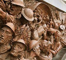 War Memorial - London by James Hughes