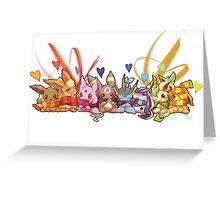 Eevee love Greeting Card
