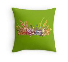 Eevee love Throw Pillow
