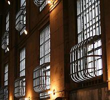 Alcatraz Cell Block by davidrobbo