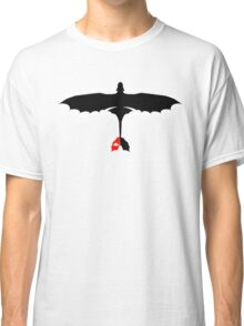 How to Train Your Dragon - Night Fury - Toothless Silhouette Classic T-Shirt