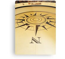 Which Way is North Metal Print