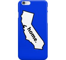 California. Home. iPhone Case/Skin