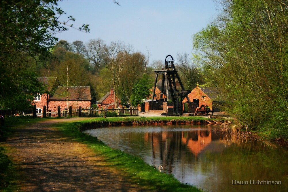 Blists Hill Canal by Dawn Hutchinson