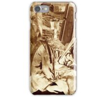 Fantasy Portrait Sepia Study No 32. iPhone Case/Skin