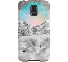 Put Your Thoughts To Sleep (Peaceful Moon / Wolf Spirit) Samsung Galaxy Case/Skin