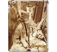 Fantasy Portrait Sepia Study No 32. iPad Case/Skin