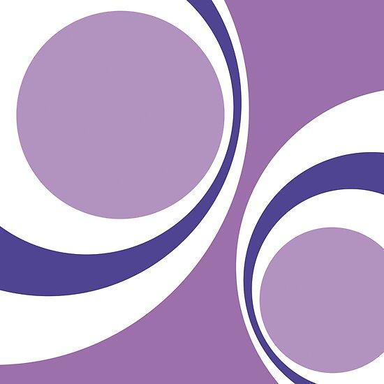 purple retro by Micheline Kanzy