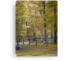 The Old Rail Fence 2 Canvas Print