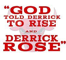 Derrick Rose Chicago Bulls NBA Photographic Print
