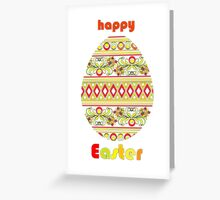 happy easter_card Greeting Card