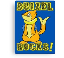 Buizel Rocks! Canvas Print