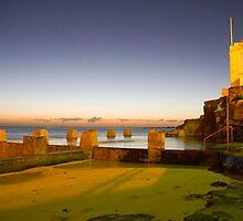 Coogee Beach pre Dawn by Bradley Ede