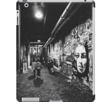 Seattle, Post Alley murals iPad Case/Skin