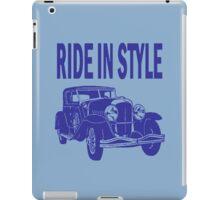 RIDE IN STYLE-CLASSIC iPad Case/Skin