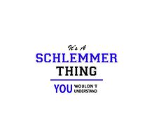 It's a SCHLEMMER thing, you wouldn't understand !! by thestarmaker