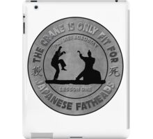 Pai Mei vs Daniel San iPad Case/Skin