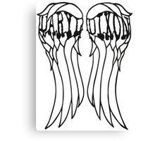 Daryl Dixon Wings Canvas Print
