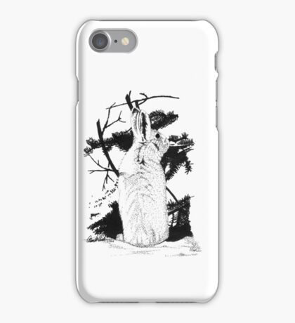 Snow Bunny iPhone Case/Skin