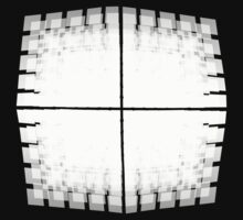 The Grid White Transparent 3D by Kingcobra