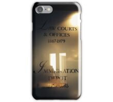 Law Courts & Offices 1887-1979 iPhone Case/Skin