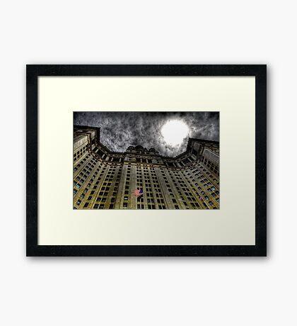 Gotham City Hall Framed Print