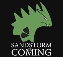 Sandstorm is coming by VicNeko