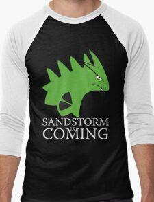 Sandstorm is coming Men's Baseball ¾ T-Shirt
