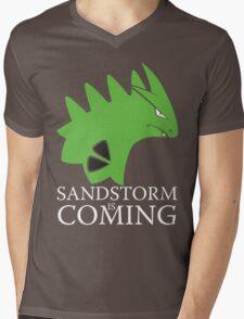 Sandstorm is coming Mens V-Neck T-Shirt