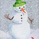 Snowman Friend by Amy-Elyse Neer