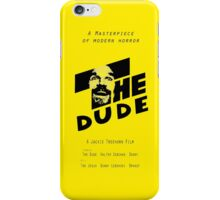 The Dude, inspired by The Shining iPhone Case/Skin