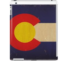 Colorado State Flag VINTAGE iPad Case/Skin