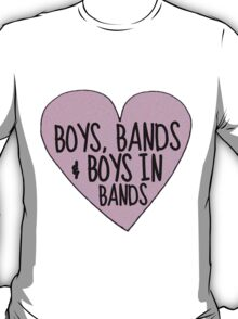 Boys in Bands (TUMBLR HEART EDITION!) T-Shirt