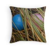 spring ball Throw Pillow